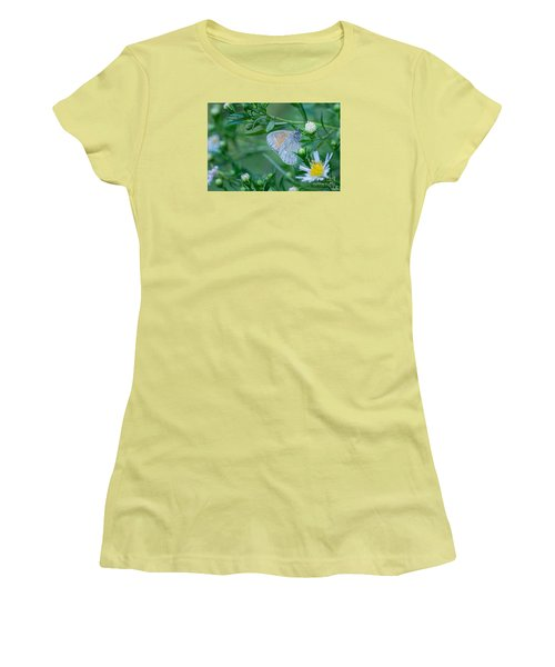 Women's T-Shirt (Junior Cut) featuring the photograph Moth by Alana Ranney