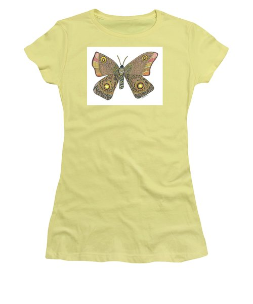 Moth Women's T-Shirt (Athletic Fit)