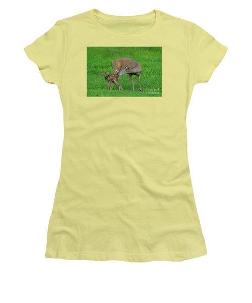 Mother's Love Women's T-Shirt (Junior Cut) by Sandra Updyke