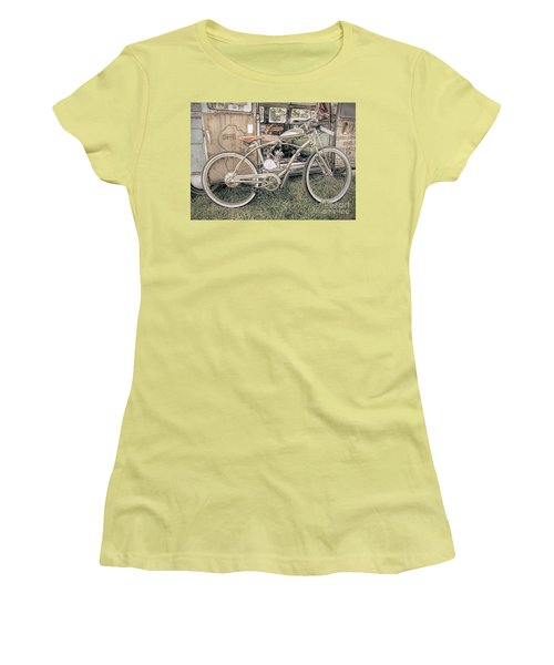 Motorized Bike Women's T-Shirt (Athletic Fit)