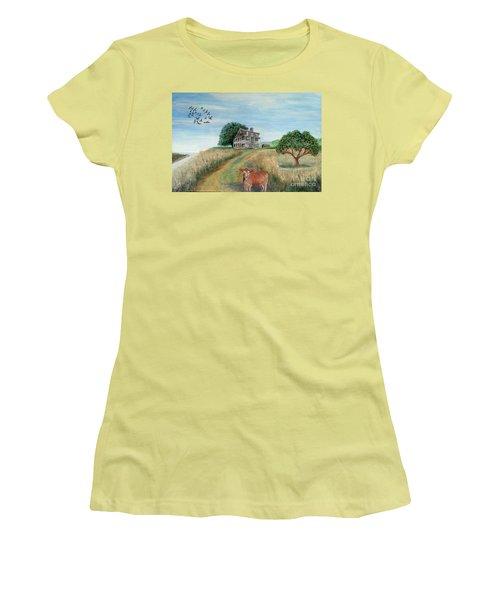 Mount Hope Plantation Women's T-Shirt (Athletic Fit)