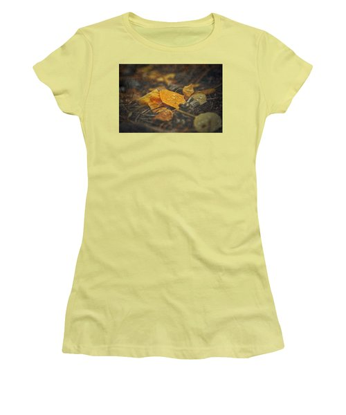 Women's T-Shirt (Junior Cut) featuring the photograph Mountain Months  by Mark Ross