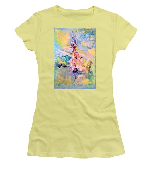 Mountain Range Women's T-Shirt (Athletic Fit)