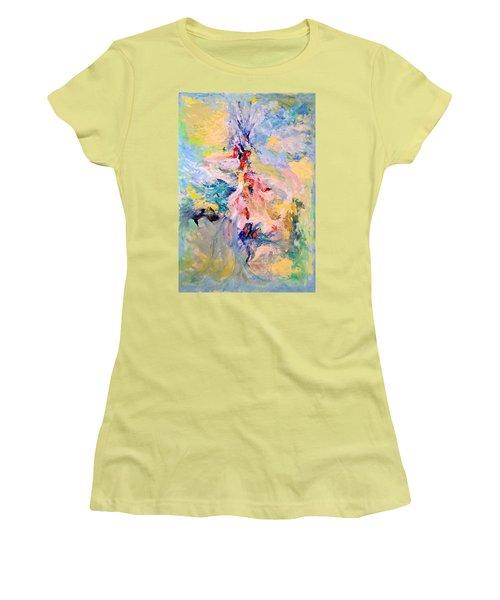 Mountain Range Women's T-Shirt (Athletic Fit)