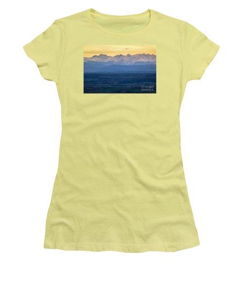 Mountain Scenery 15 Women's T-Shirt (Junior Cut) by Jean Bernard Roussilhe