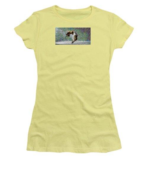 Movement Theory - Ballerina Women's T-Shirt (Junior Cut) by Sir Josef - Social Critic -  Maha Art