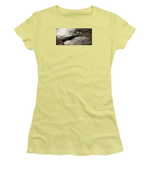 Moving Water Women's T-Shirt (Athletic Fit)