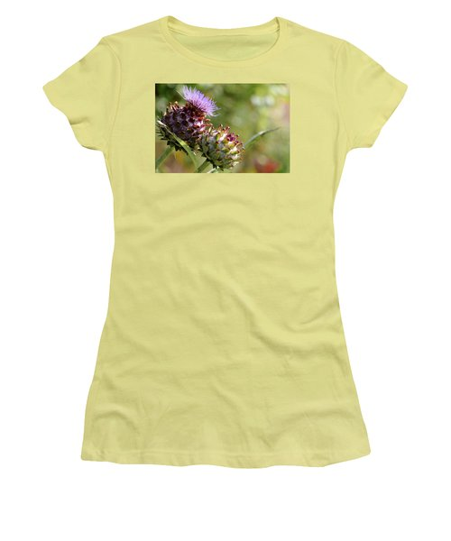 Mr And Mrs Thistle  Women's T-Shirt (Junior Cut) by Jeremy Lavender Photography