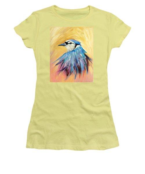 Mr. Blue Women's T-Shirt (Athletic Fit)