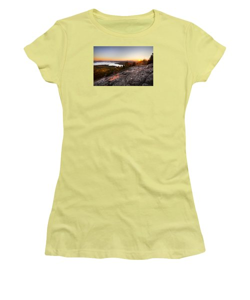 Mt. Major Summit Women's T-Shirt (Athletic Fit)