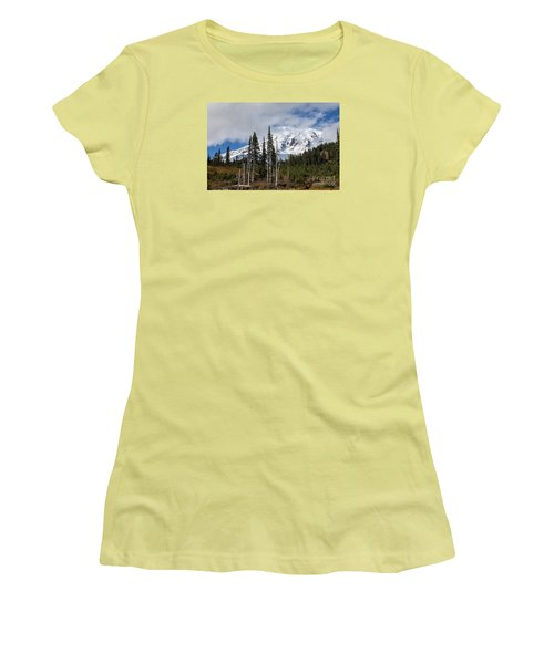 Mt. Rainier High Meadow Women's T-Shirt (Athletic Fit)