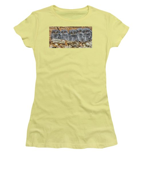 Mt. Rushmore Mimics Women's T-Shirt (Athletic Fit)