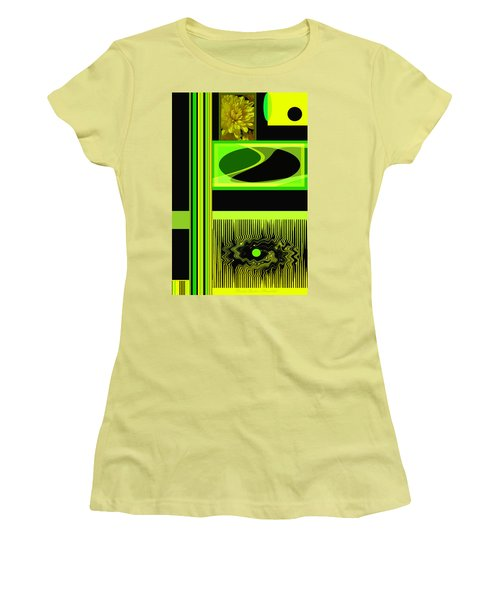 Mum Abstract 5 Women's T-Shirt (Junior Cut) by Brooks Garten Hauschild
