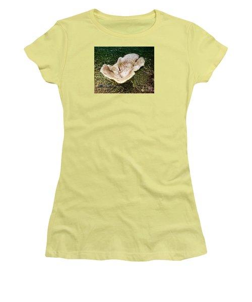 Mushroom  1 Women's T-Shirt (Junior Cut) by Melissa Messick