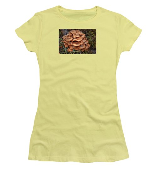 Mushroom Bouquet Women's T-Shirt (Athletic Fit)
