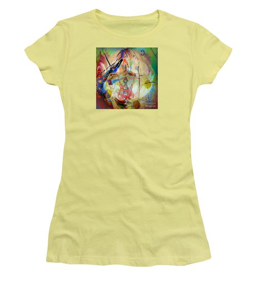 Music Girl Women's T-Shirt (Athletic Fit)