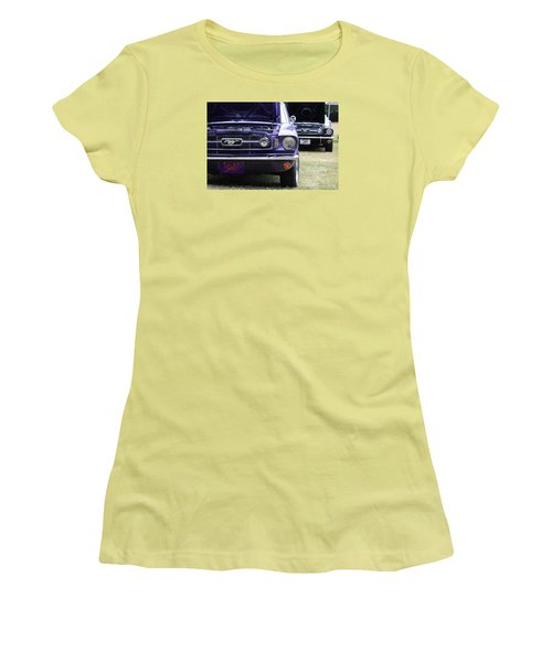 Mustang Love Women's T-Shirt (Athletic Fit)