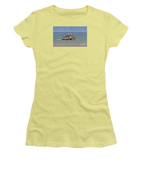 Mv Yorkshire Belle Women's T-Shirt (Junior Cut) by David  Hollingworth