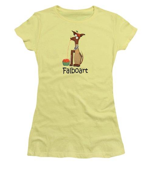 My Applehead Chiwawa Women's T-Shirt (Junior Cut) by Anthony Falbo