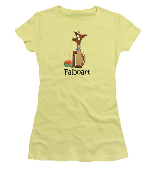 My Applehead Chiwawa Women's T-Shirt (Athletic Fit)