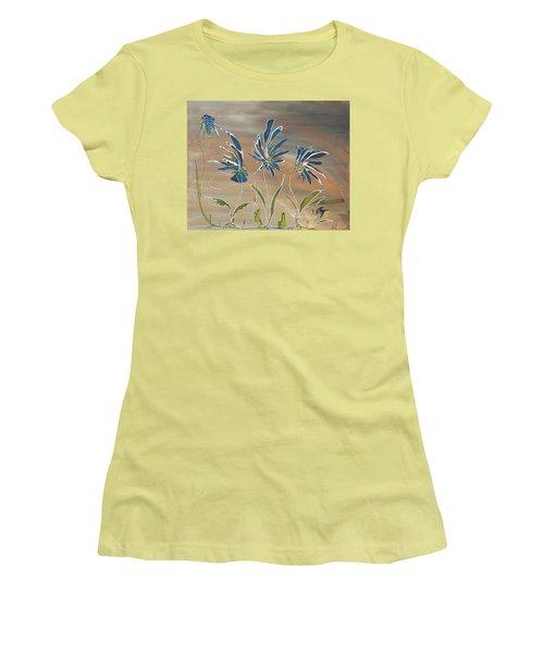 My Blue Garden Women's T-Shirt (Athletic Fit)