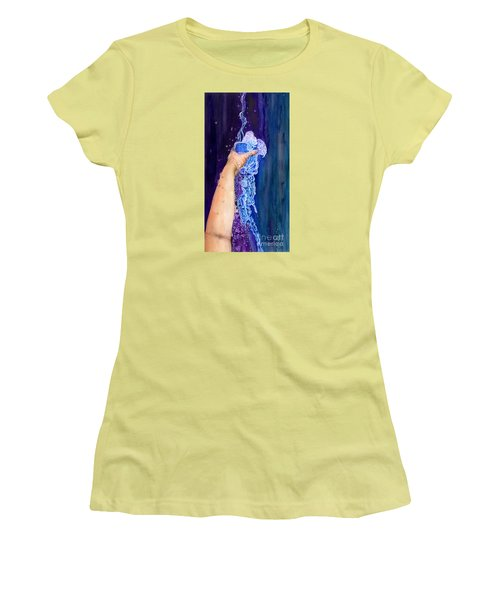 My Cup Runneth Over Women's T-Shirt (Athletic Fit)
