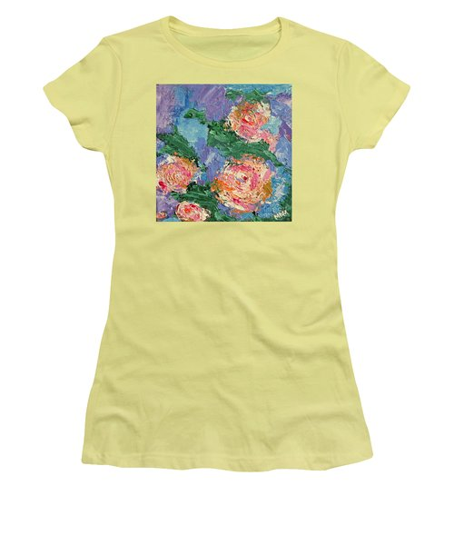 My Father's Roses Women's T-Shirt (Athletic Fit)
