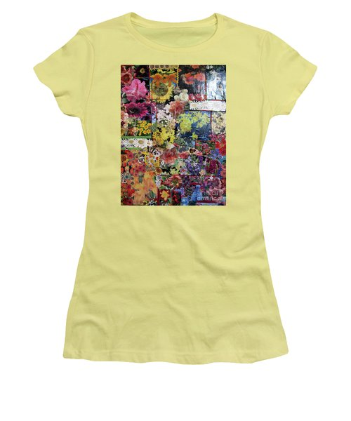 My Garden Women's T-Shirt (Junior Cut) by Sandy McIntire