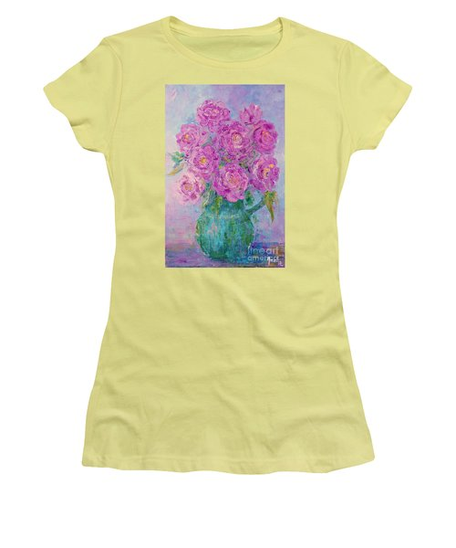 My Summer Roses Women's T-Shirt (Athletic Fit)