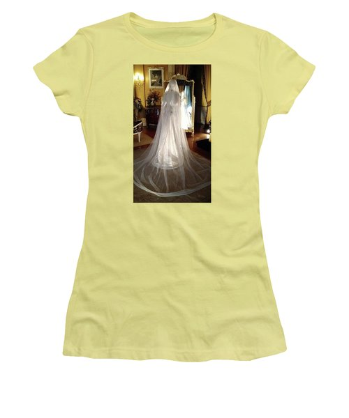 Women's T-Shirt (Junior Cut) featuring the photograph My Wedding Gown by Gary Smith