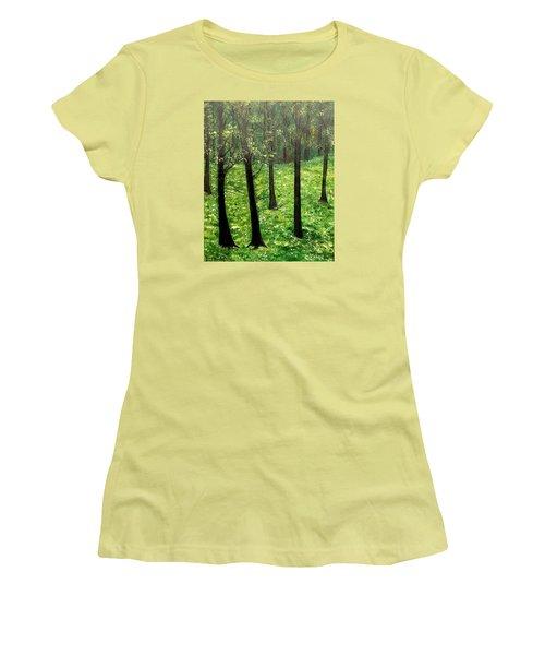 Mysterious Women's T-Shirt (Junior Cut) by Lisa Aerts
