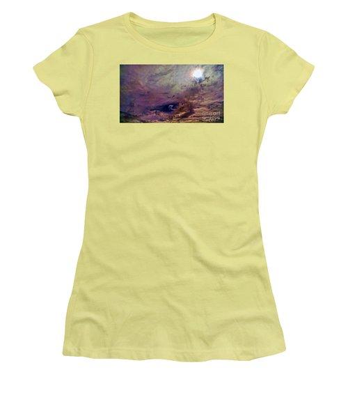 Women's T-Shirt (Junior Cut) featuring the photograph Mystery by Roberta Byram
