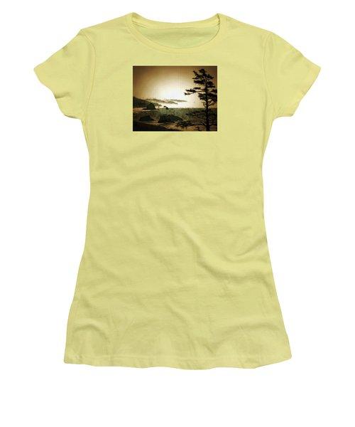 Mystic Landscapes Women's T-Shirt (Athletic Fit)