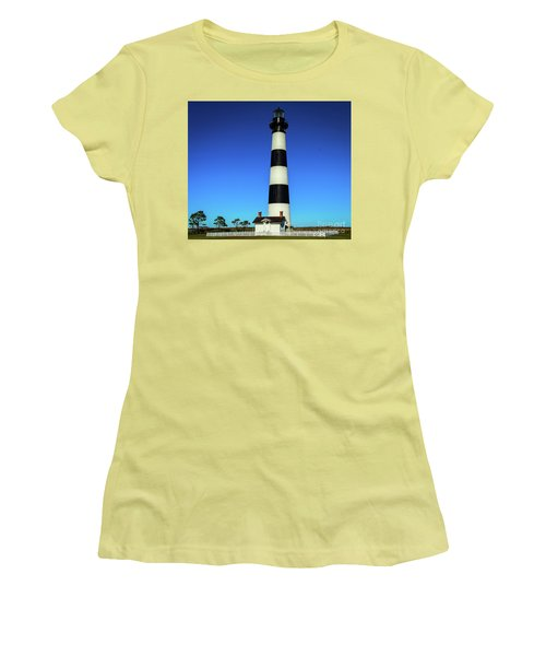 Nags Head Lighthouse Women's T-Shirt (Athletic Fit)