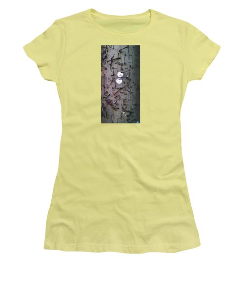 Nailed It Women's T-Shirt (Junior Cut) by Steve Sperry
