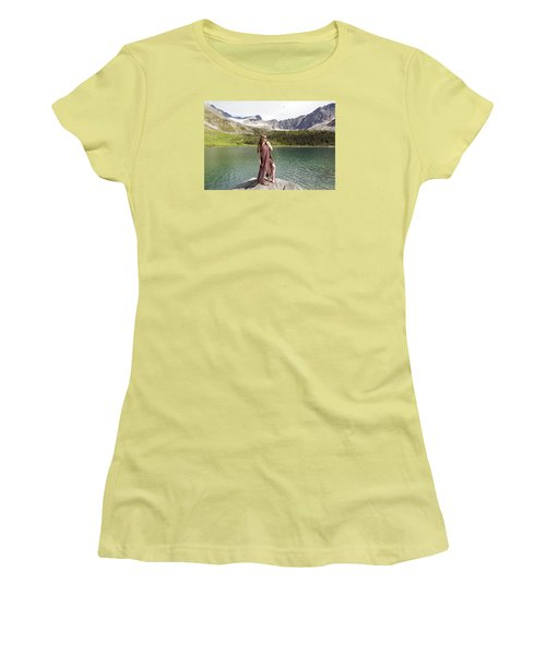 Naked In Alaska Women's T-Shirt (Athletic Fit)