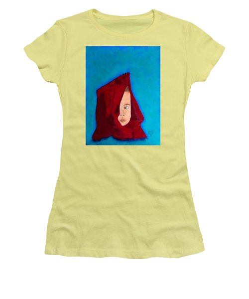 Women's T-Shirt (Junior Cut) featuring the painting Nameless by Rod Jellison