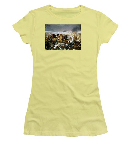 Napoleon At Eylau  Women's T-Shirt (Junior Cut) by Antoine Jean Gros