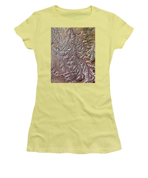 Nasa Image-canyonlands National Park, Utah-2 Women's T-Shirt (Athletic Fit)