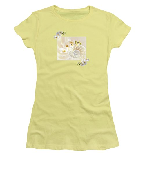 Natural Fusion Women's T-Shirt (Junior Cut) by Gill Billington