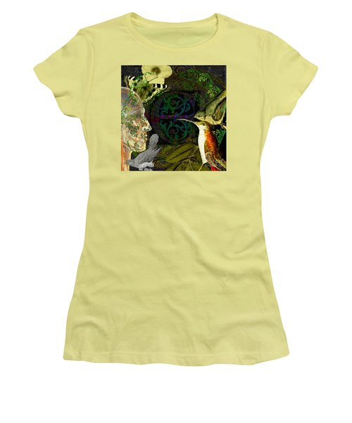 Natural Man Women's T-Shirt (Junior Cut) by Joseph Mosley