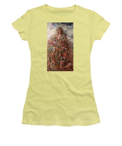 Nature Or Abundance Women's T-Shirt (Junior Cut) by Leon Frederic