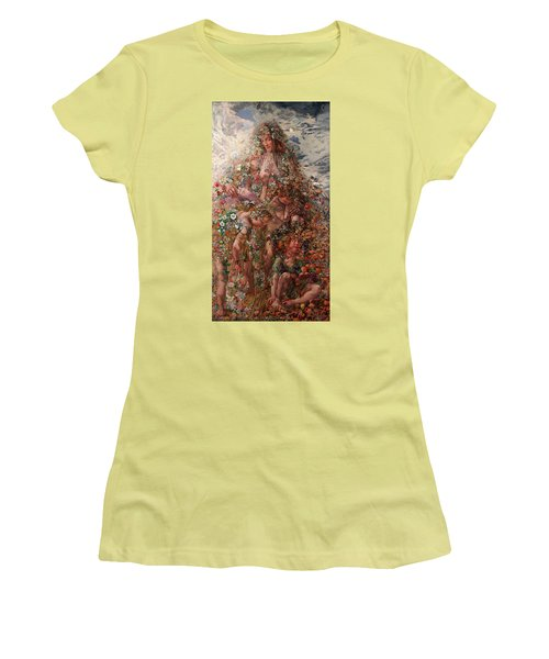 Nature Or Abundance Women's T-Shirt (Athletic Fit)