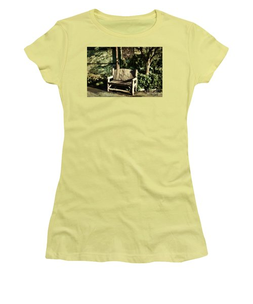 Nature - Peacefulness  Women's T-Shirt (Junior Cut) by Judy Palkimas