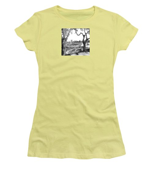Nature Sketch Women's T-Shirt (Junior Cut) by John Stuart Webbstock
