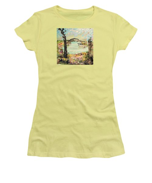 Nature Walk Women's T-Shirt (Athletic Fit)