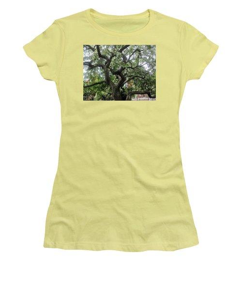 Natures Strength Women's T-Shirt (Junior Cut) by Paul Meinerth