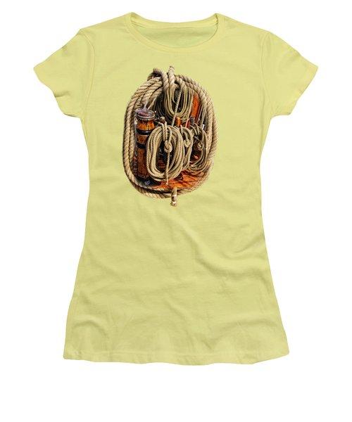 Nautical Knots 16 Women's T-Shirt (Athletic Fit)