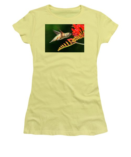 Nectar Time Women's T-Shirt (Junior Cut) by Sheldon Bilsker
