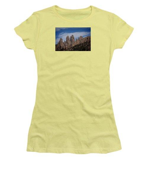 Needles, North Dakota Women's T-Shirt (Athletic Fit)